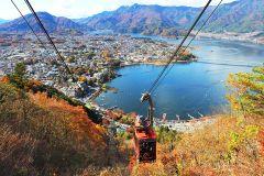 De Tóquio: Cavernas de Gelo e Teleférico do Monte Fuji