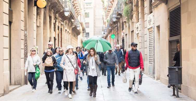 Barcelona Highlights: Bus and Walking Tour