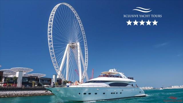 Dubai Marina: luxe jachtervaring met ontbijt of barbecue