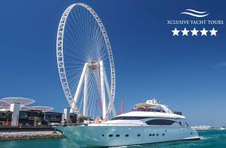 Dubai Marina: Luxuriöse Yacht-Tour mit Frühstück oder BBQ