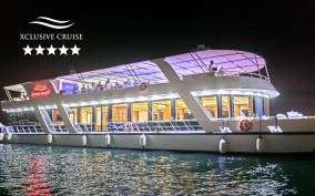 Dubai: Marina Dinner Cruise with Drinks & Live Music