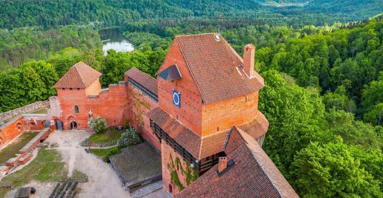 From Riga: Cēsis, Sigulda & Turaida Castle Tour