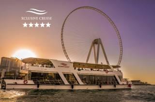 Dubai: Dinnerfahrt mit unbegrenzten alkoholischen Getränken