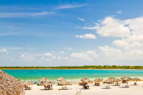 From Jericoacoara: Preá Beach and Paradise Lagoon Tour