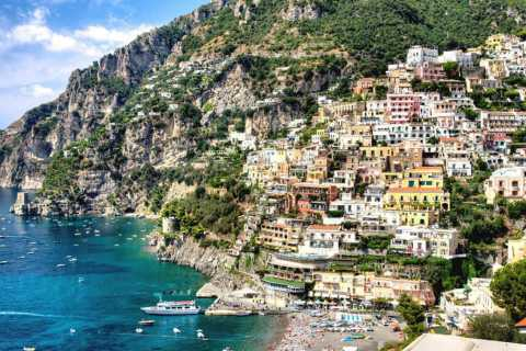 Positano: Full-Day Private Amalfi Coast Vespa Tour