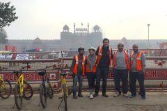 Delhi: Forte Vermelho e Antiga Delhi Cycle Tour