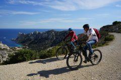 De Marselha: passeio de bicicleta até Calanque de Sormiou