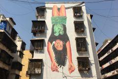 Dharavi: Passeio a pé de arte de rua