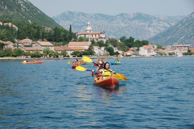 Baai van Kotor: 2,5 uur Kayak Tour