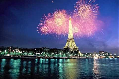 Parijs: Sightseeing Bastille-dagcruise