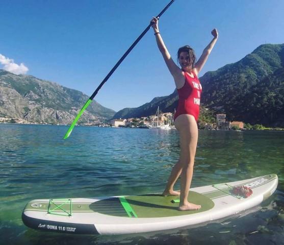 Baai van Kotor: Tour-paddle-tour van 2 uur