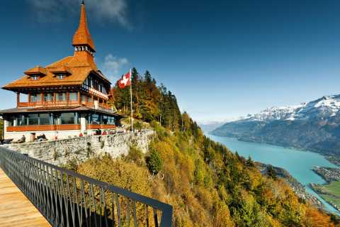 Interlaken: Funicular Ticket to Harder Kulm