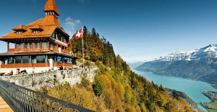 Interlaken: Funicular Ticket to Harder Kulm
