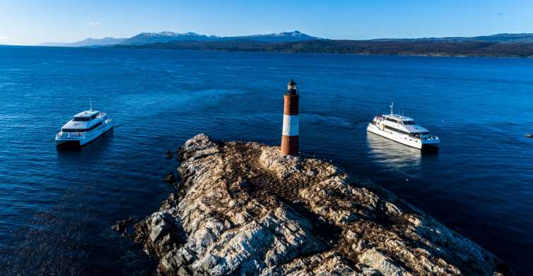Ushuaia: Beagle Channel & Sea Wolves Island Catamaran Cruise