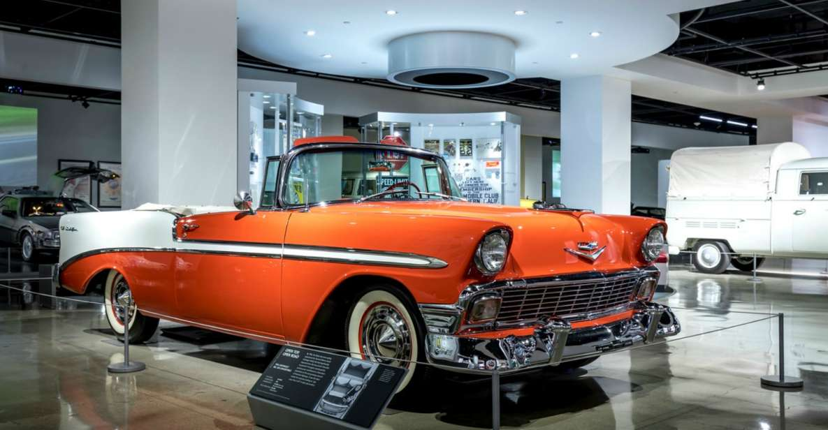 Los Angeles: Adgangsbillet til Petersen Automotive Museum