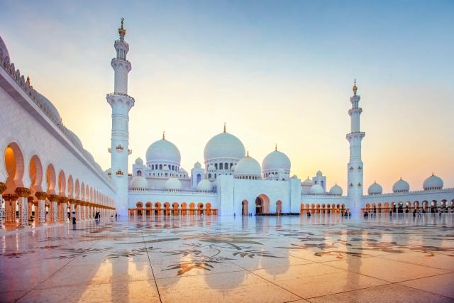 Vanuit Dubai: halfdaagse trip Abu Dhabi Sjeik Zayed-moskee