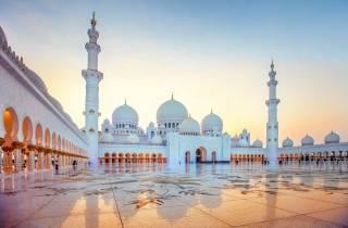 Ab Dubai: Halbtagestour zur Scheich-Zayid-Moschee