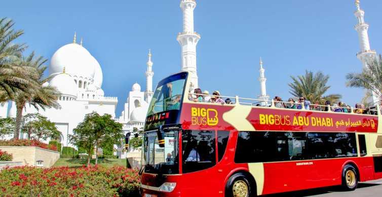 Abu Dhabi: Klassische Hop-On/Hop-Off-Tagestour