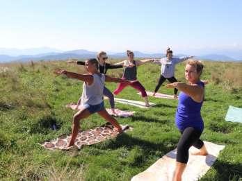 Asheville: Appalachian Trail Morgen-Yoga-Wanderung