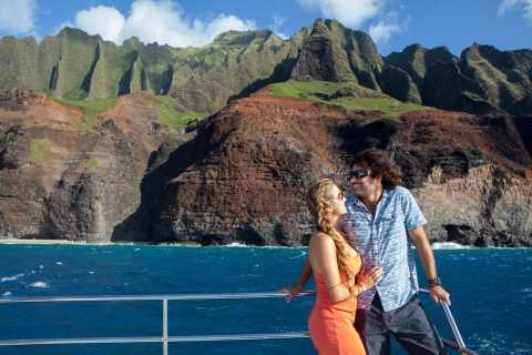 Kauai: Napali Sunset Dinner Cruise