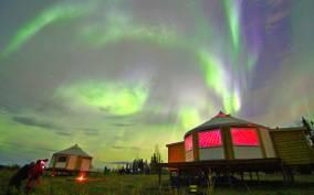 Alaskan Northern Lights/Aurora Borealis Lodges
