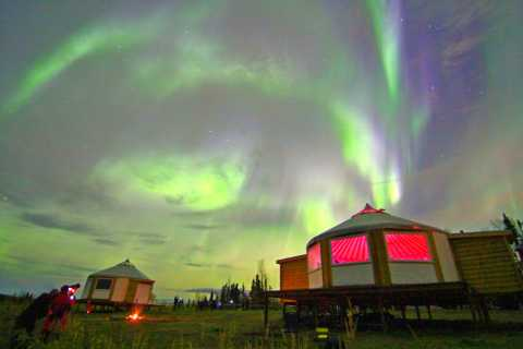Alaskan Northern Lights/Aurora Borealis Lodges