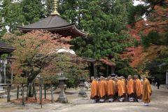 De Osaka: Ingressos para o Trem de Koya e Almoço no Templo