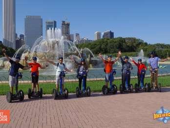 Stadtrundfahrt Chicago: Segway mit Blick auf den Michigansee