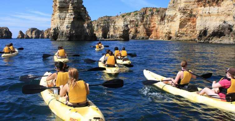 Lagos, Portugal: Cave Kayak Trip