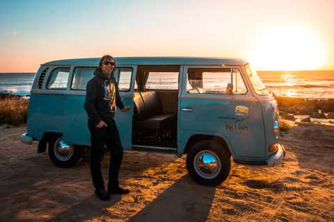 Portimão & Carvoeiro: Algarve Sunset Trip in a VW T2 Van