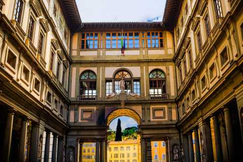 Florenz: Private Tour durch die Uffizien