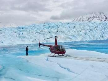 Knik: Knik Glacier Helicopter Tour mit Landung