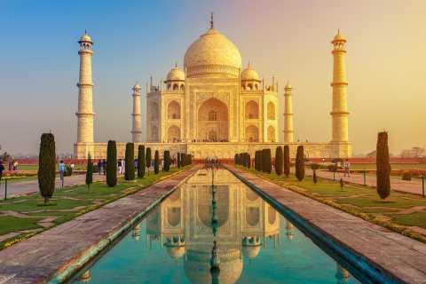 Taj Mahal y Agra: tour privado al amanecer desde Delhi