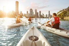 Brisbane: Passeio guiado de caiaque no rio