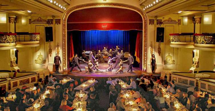 Buenos Aires: Piazzolla Tango Show with Optional Dinner