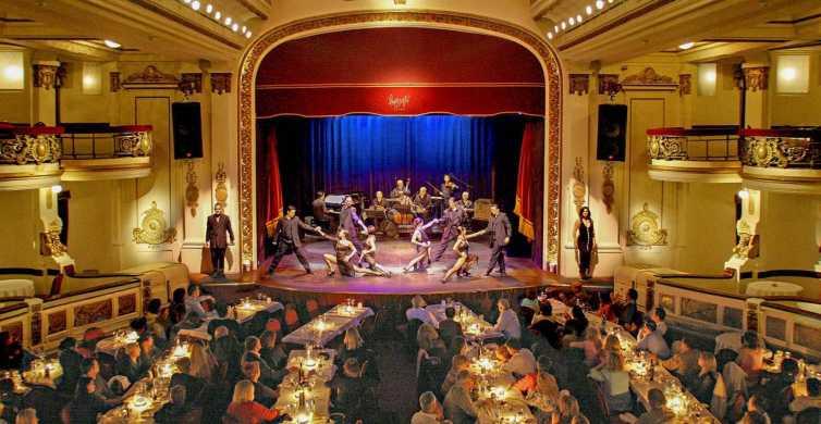 Buenos Aires: espectáculo de tango en vivo con cena opcional