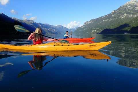 Interlaken: Kayak Tour of the Turquoise Lake Brienz