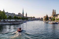 Zurique: Excursão de 4 Horas de Balsa, Teleférico e Ônibus