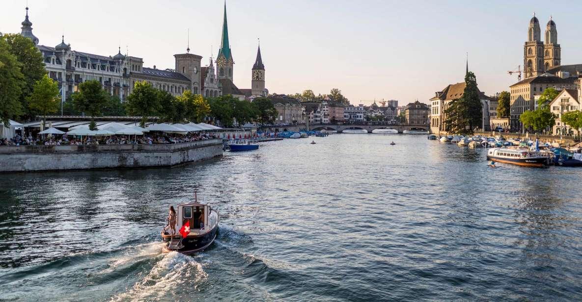 Zürich: 4-stündige Stadtrundfahrt per Fähre, Seilbahn & Bus