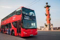São Petersburgo: Ônibus Hop-On Hop-Off por 1 ou 2 Dias