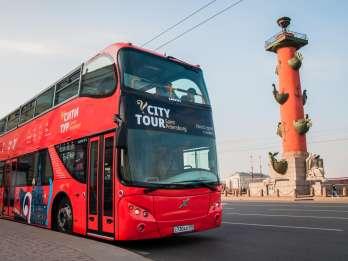 Sankt Petersburg: 1- / 2 Tages-Ticket für Hop-On/Hop-Off-Bus