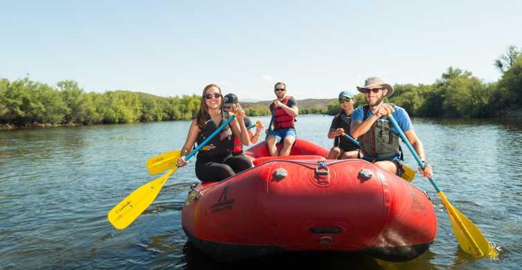 Scottsdale: Half-Day Lower Salt River Rafting Tour
