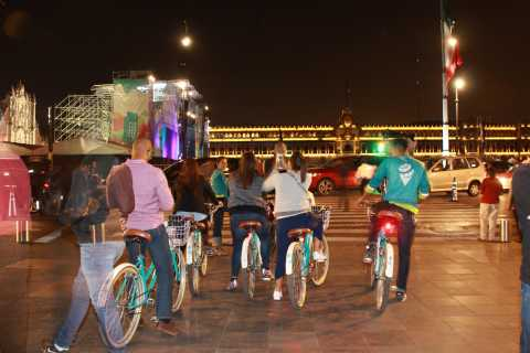 Mexico City: Lights Night Bike Ride