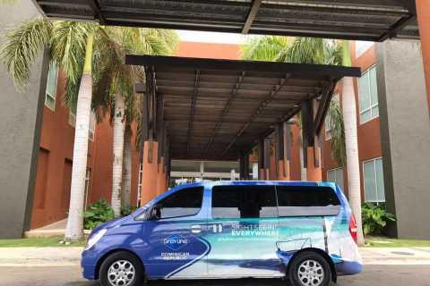 Traslados de ida y vuelta al aeropuerto de Punta Cana