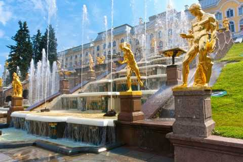 Peterhof Palace and Gardens Tour from St. Petersburg