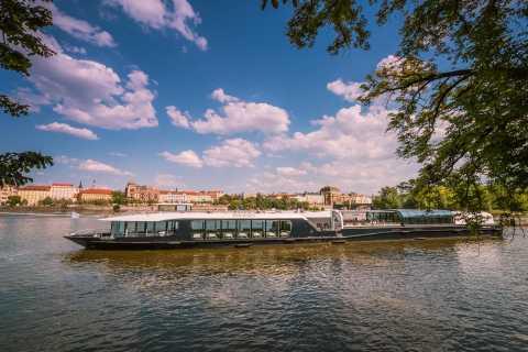 Prag: Två timmars båttur på Vltavafloden