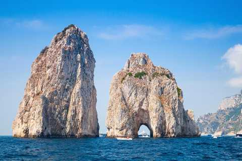 Capri Private Full-Day Boat Tour from Sorrento