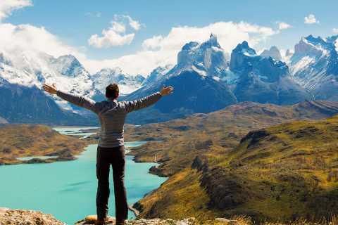 Ab El Calafate: Geländewagen-Tagestour nach Torres del Paine