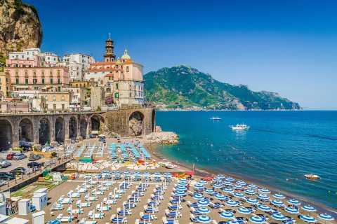 Amalfi Coast: Full-Day Private Boat Cruise