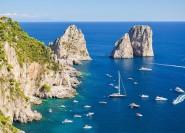 Von Amalfi nach Capri: 6-stündige Private Bootstour
